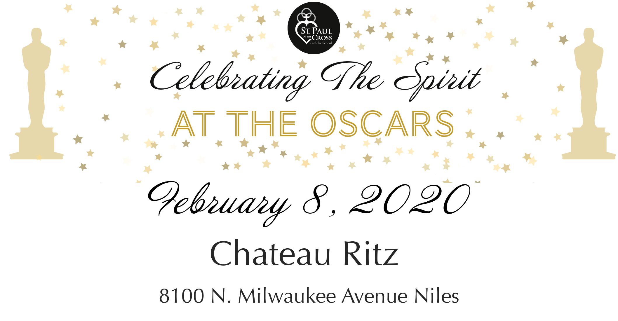 CTS Oscar Banner with date