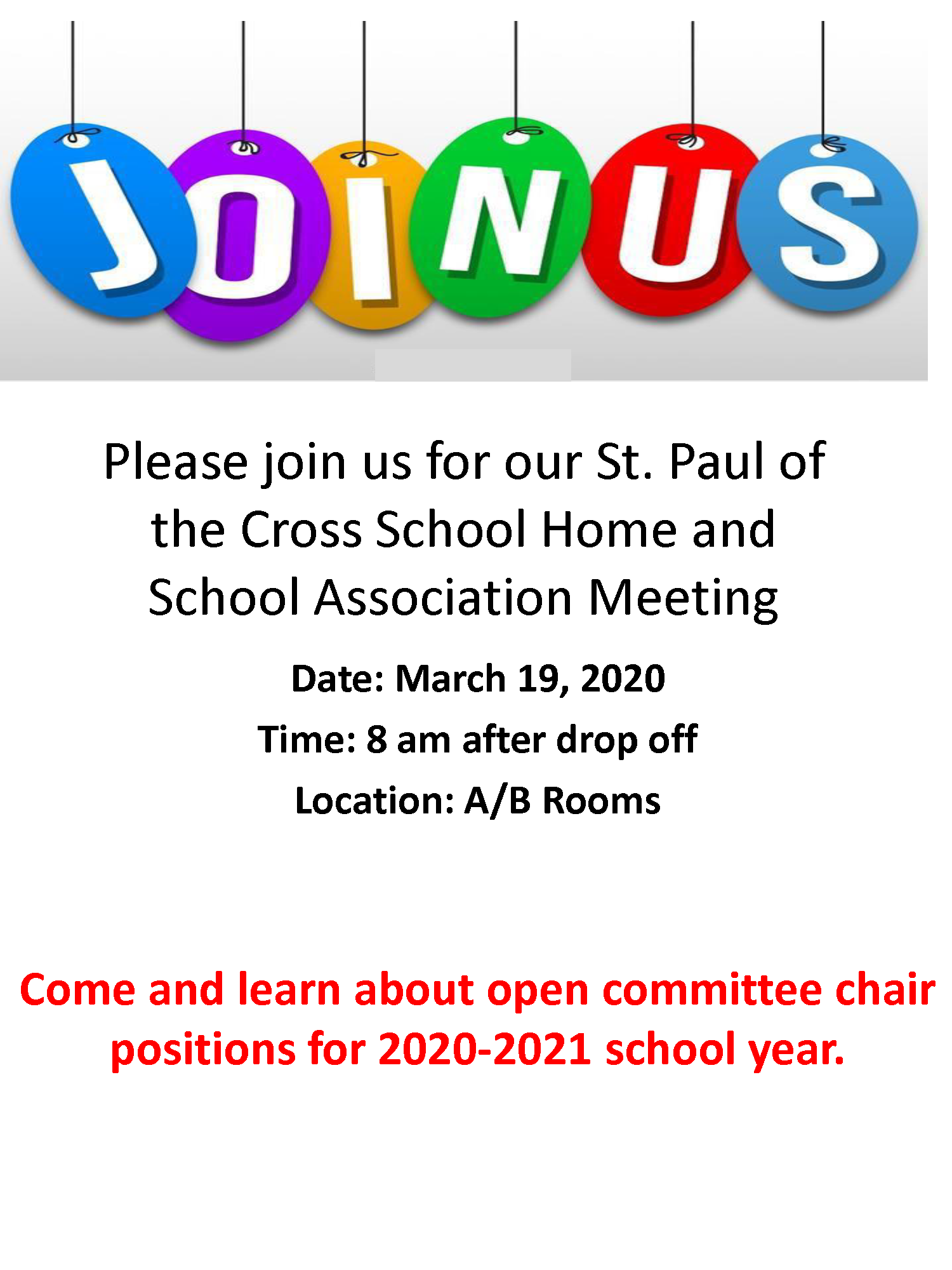 HSA Meeting March 19 2020